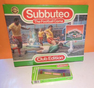 Subbuteo Club Edition Con Staccionata Buone Condizioni Cod. 60140