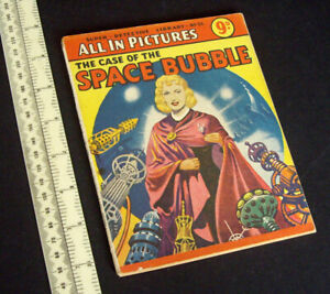 Super Detective Library Rick Random. The Case of the Space Bubble. Ron Turner