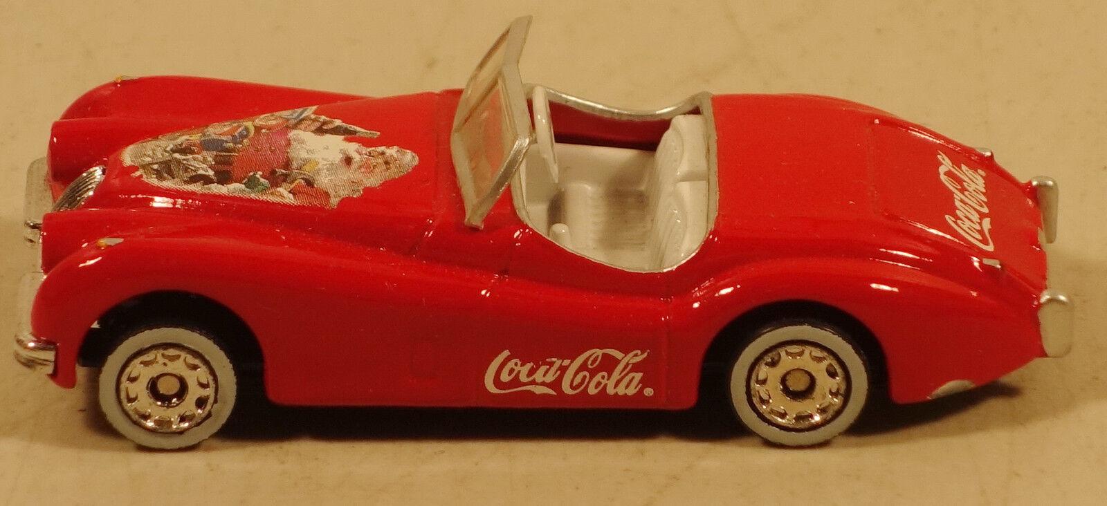 Dte selten matchbox superfast 22-e roten jaguar xk120 w   coca - cola - schriftzug prepro