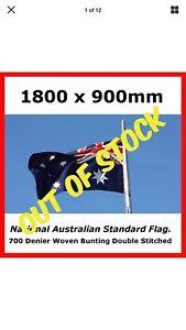 100-AUSTRALIAN-MADE-HEAVY-DUTY-FULLY-SEWN-AUSTRALIAN-STANDARD-SIZE-OUTDOOR-FLAG
