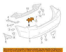 SUBARU OEM 12-15 Impreza Rear Bumper-Center Bracket Right 57707FJ080