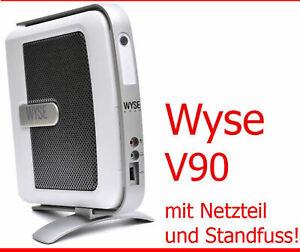 Wyse Thin Client V90 1 GHZ 512SSD 256PCMCIA USB 2.0 Lan Scheda Audio MP3 MP4 TC1