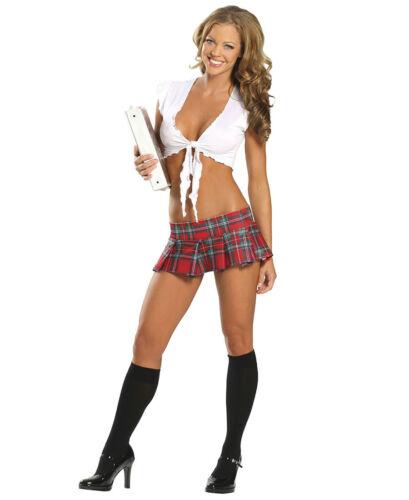 New Roma Costume 1337 Naughty School Girl Costume