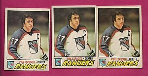 3-X-1977-78-OPC-55-NY-RANGERS-PHIL-ESPOSITO-ERROR-CARD-INV-A1129