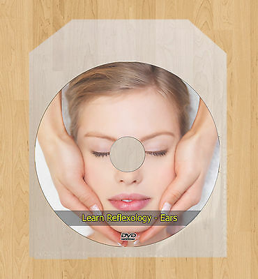 Learn Ears Reflexology Course Treatment Massage Points Acupressure DVD Course