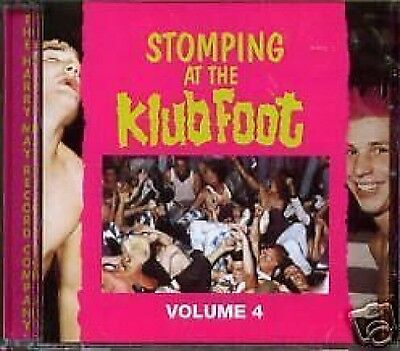 Stomping At The Klub Foot 4 CD NEW SEALED Psychobilly Guana Batz/Frenzy/Restless