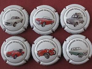 Serie-de-6-New-capsules-de-Champagne-CLEMENT-Gerard-voitures