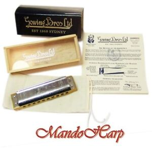 Hohner-Harmonica-Gowings-1896-20-Marine-Band-Classic-Collectors-039-Edition-NEW
