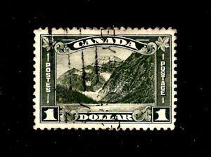 CANADA 1930, $1 Dark Olive, SG 303 ,  Mount Edith Cavell, FU