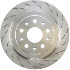 Disc Brake Rotor-C-TEK Standard Slotted Disc Rear Right fits 15-18 Cadillac CTS