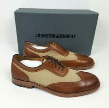 Johnston /& Murphy Daley Wingtip Color Tan NIB