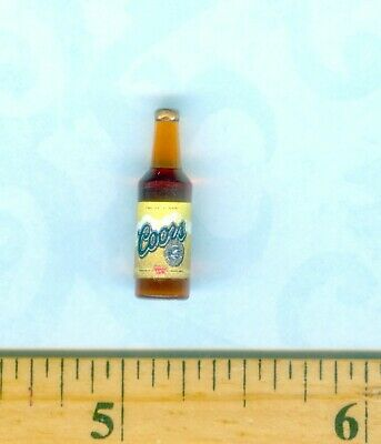 Miniature Beer Bottle #3 for DOLLHOUSE 1:12 Scale Miniatures