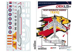 1-48-Canadair-Sabre-RCAF-Tigers-Aerobatic-Team-Decal-DEKL-039-s-II