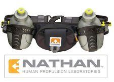 Nathan Trail Mix Running Hydration Two 10oz/300mL iPhone MP3 Pocket Waist Belt