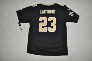 a3f6d60cc Image is loading New-Orleans-Saints-MARSHON-LATTIMORE-Youth-Jersey-23-