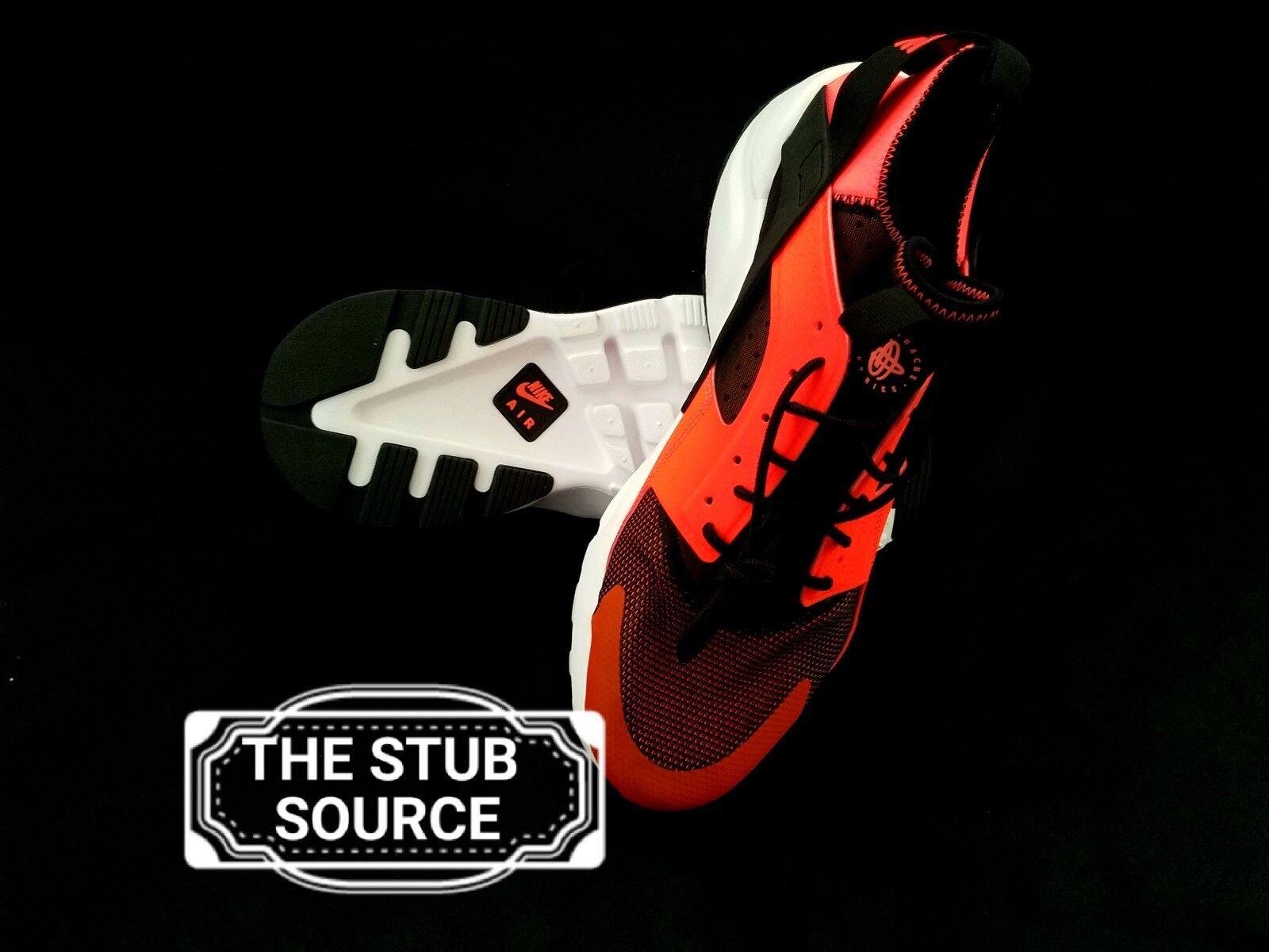 Nike Air Huarache Run Ultra Crimson Orange Shoes Sneakers Sz 13 819685-008 NWOB