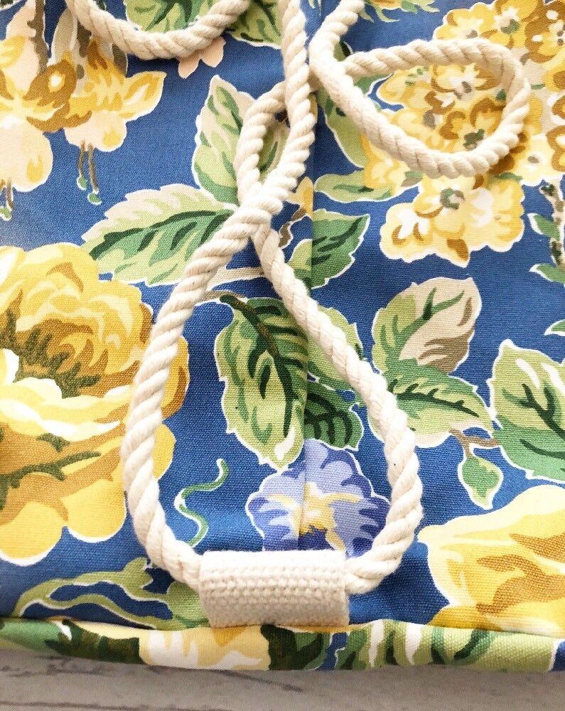 Vintage 1990's Laura Ashley Floral Cinch Backpack… - image 7
