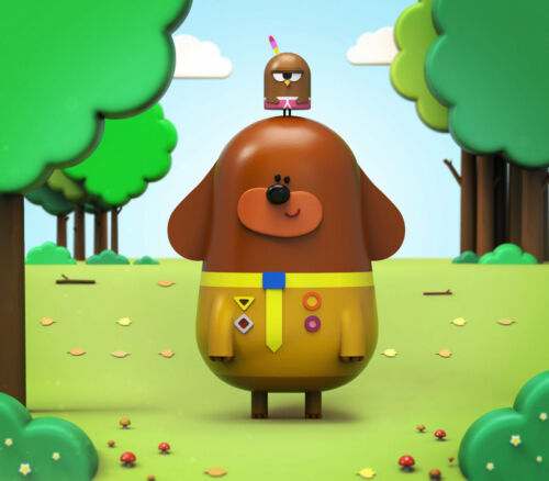 Hey Duggee characters Choose image and size iron on T shirt transfer