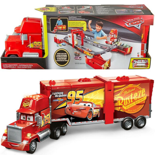Cars Camion Trasformabile Playset