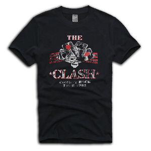 THE-CLASH-034-COMBAT-ROCK-TOUR-039-82-034-VINTAGE-T-SHIRT