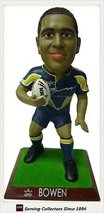 2009 Select NRL Superstar Sculpture Matt Bowen (Cowboys)-Gift, Collectable