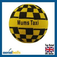 Fun ' Mums Taxi ' Car Aerial Ball  / Antenna Topper