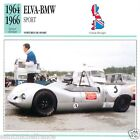 ELVA-BMV SPORT 1964 1966 CAR VOITURE Great Britain GRANDE BRETAGNE CARD FICHE