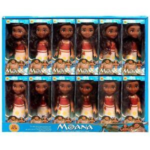 16cm 6'' Baby Kid Child Disney Princess Moana Mini Action Figure Doll Toy Decor