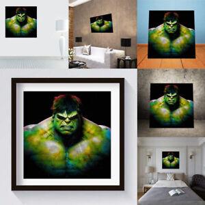 Tableau-Peinture-Huile-Abstraite-Maison-Mur-Salon-Decoration-Sans-Cadre-20x20cm