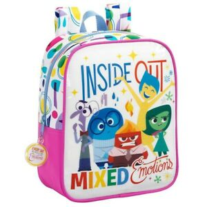 INSIDE OUT Backpack Mixed Emotions 11 13/16x8 11/16in Original Disney Pixar