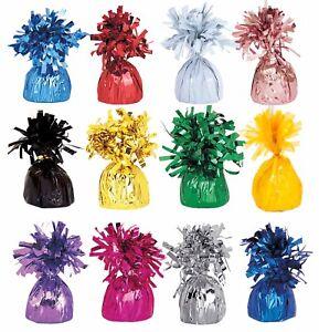Foil Balloon pesos con Borlas Decoraciones Boda Fiesta Cumpleaños Bautizo Mesa