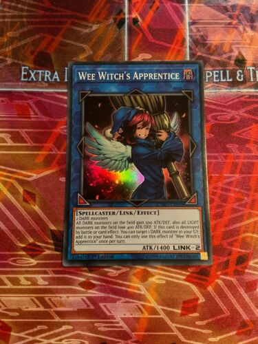 Yu-Gi-Oh Super Rare Wee Witch/'s Apprentice CYHO-EN049 Mixed Editions NM
