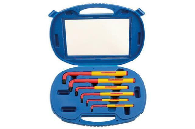 Laser Tools 5515 VDE Juego de Llaves Hexagonales - Extra Largo