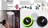 2016 Latest Design Wireless Bluetooth Shower Speaker Water Resistant & Tf Reader