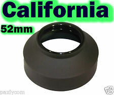 52mm 3 Stage  Rubber Lens Hood Canon Nikon Sony Sigma