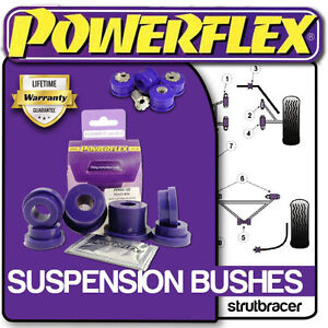 Volkswagen Polo 9N/9N3 inc GTI TDI (2002-2008) All POWERFLEX Suspension Bushes