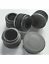 """12 Pack 3//4/"""" Round Finishing Plugs For Tubing  Blanking Plugs,Chair Glide-Black"""