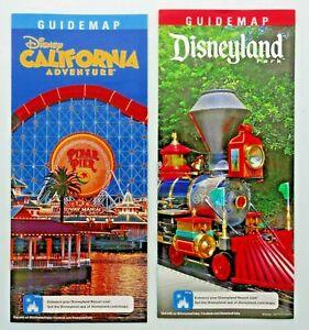 Disneyland And California Adventure New Year January 2019 Guide Map
