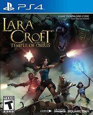 Lara Croft and the Temple of Osiris + Season Pass [PlayStation 4 PS4, Co-op] NEW