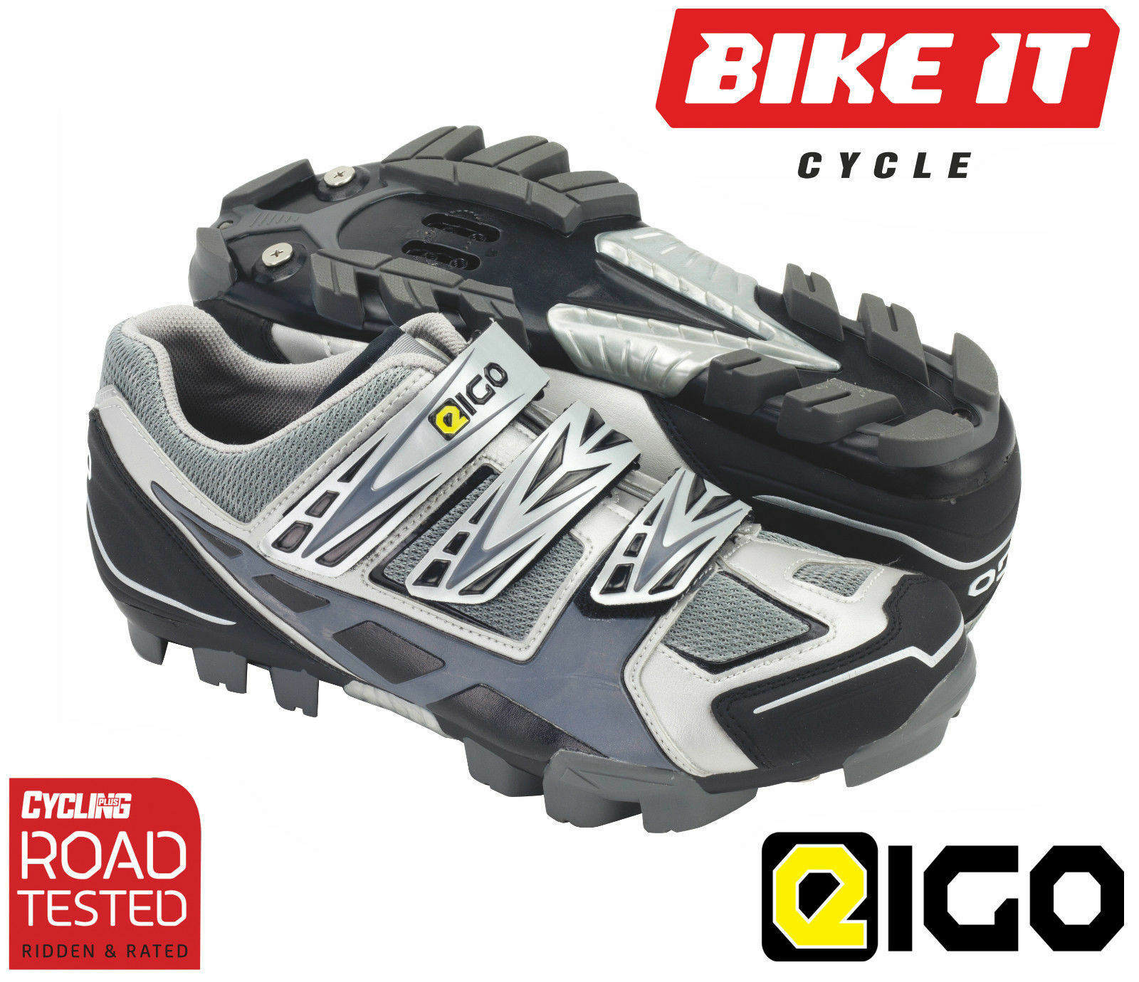 EIGO EPSILON DH SHOES MOUNTAIN BIKE MTB CROSS COUNTRY SHOES