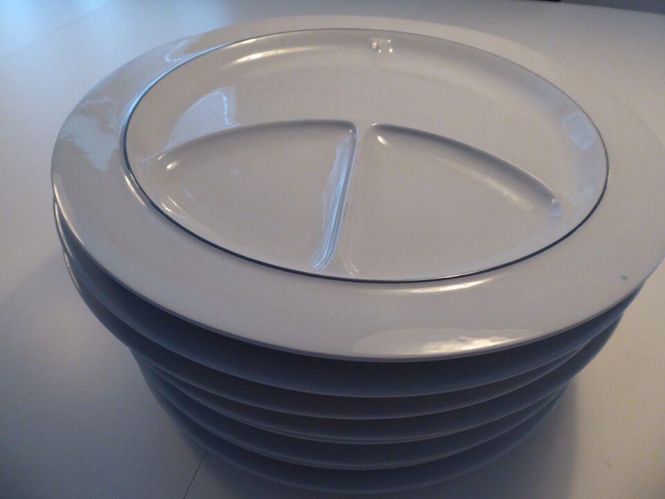 Porcelæn, Steak tallerken, Royal Copenhagen