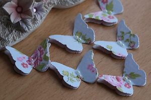 20-VINTAGE-STYLE-3D-BUTTERFLIES-WEDDING-STATIONERY-CARDS-CRAFTS-SET-14