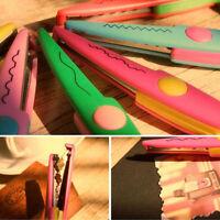 6X DIY Kinderschere Kinder-Lernschere verschiedene Schnittmuster Bastelschere