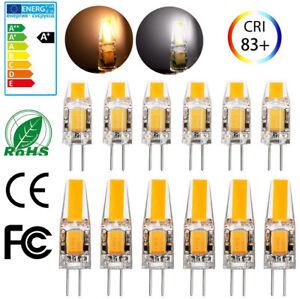 12x-10x-3W-6W-G4-LED-COB-Lampe-Leuchtmittel-Birne-Warmweiss-Kaltesweiss-AC-DC-12V