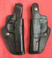 Black Leather Rh Holster For Tokarev Tt Tt-33 M57 Ttc Norinco Formed Molded,new