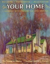 1930 Your Home February- Houses in Flintridge CA; Millburn NJ; Great Neck L.I.