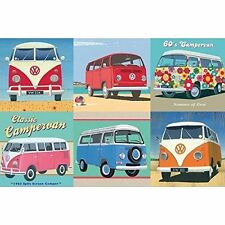 GIBSONS VOLKSWAGON VW CAMPERVAN OFFICIAL 500 PIECE JIGSAW PUZZLE IN A TIN