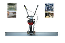 Brand New 65ft Concrete Power Vibrating Screed Power Screed Concrete Finishing