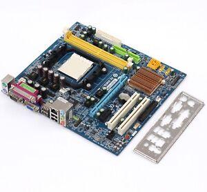 Gigabyte-GA-M61SME-S2-2-0-AMD-AM2-AM2-Motherboard-DDR2-nForce-405-Geforce-6100