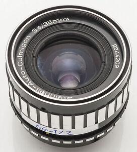 Steinheil-Auto-Culmigon-1-3-5-35-35-mm-35mm-3-5-1-3-5-M42-Anschluss